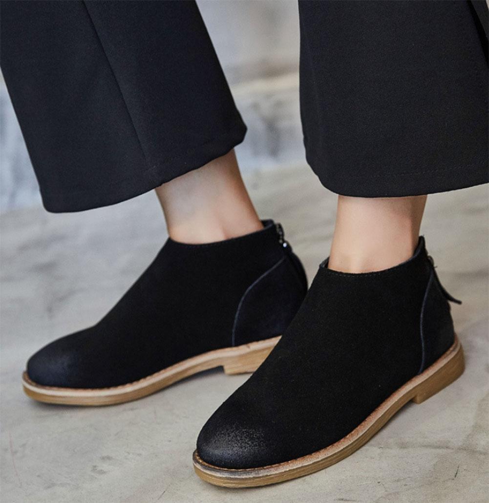 KUKI Herbst und Winter Frauen Stiefel flache Stiefel Stiefel Stiefel billig Frauen Stiefel leichte atmungsaktive Freizeitschuhe 246b43