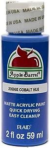 Apple Barrel Acrylic Paint in Assorted Colors (2 oz), 20596, Cobalt Blue