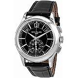Patek Philippe Complications Black Dial Perpetual Calendar Platinum Mens Watch 5905P-010