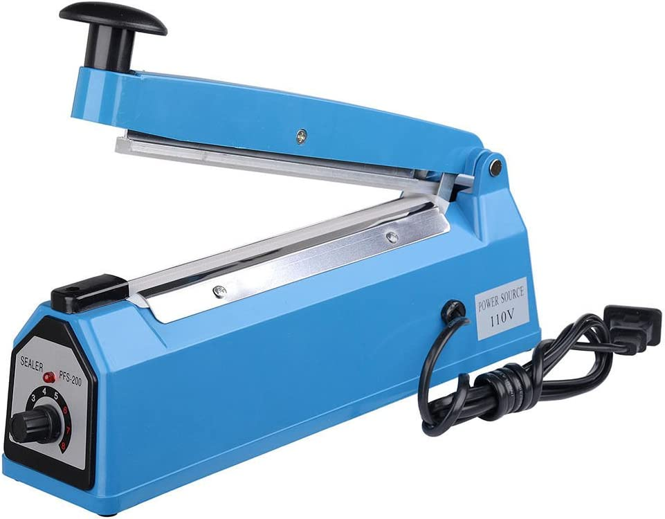 Industrial & Scientific 200mm 8 Impulse Manual Hand Sealer Heat ...