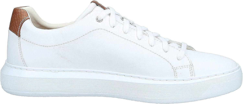 Geox Sneakers Uomo U845WB 00085 C1000 Bianco Bianco 40 EU