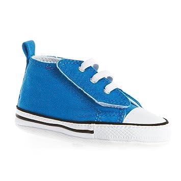 7ba5984ba2bba Converse Babyschuhe Krabbelschuhe Klettverschluss FIRST STAR EASY SLIP HI  Tex blue