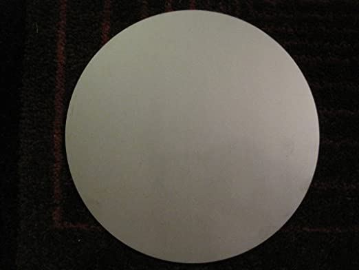 """1//8/"""" Steel Plate .125 A36 Steel 8.50/"""" Diameter Circle Round Disc Shaped"""