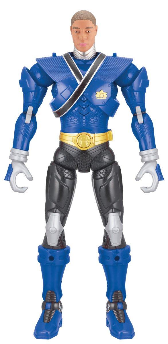 Power Ranger 12inch Battlized Figure Shogun Blau