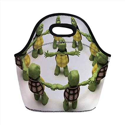 Amazon.com: Portable Bento Lunch Bag, Reptile, Ninja Turtles ...