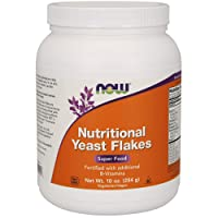 NOW Supplements, Nutritional Yeast Flakes Fortified with Additional B-Vitamins,...