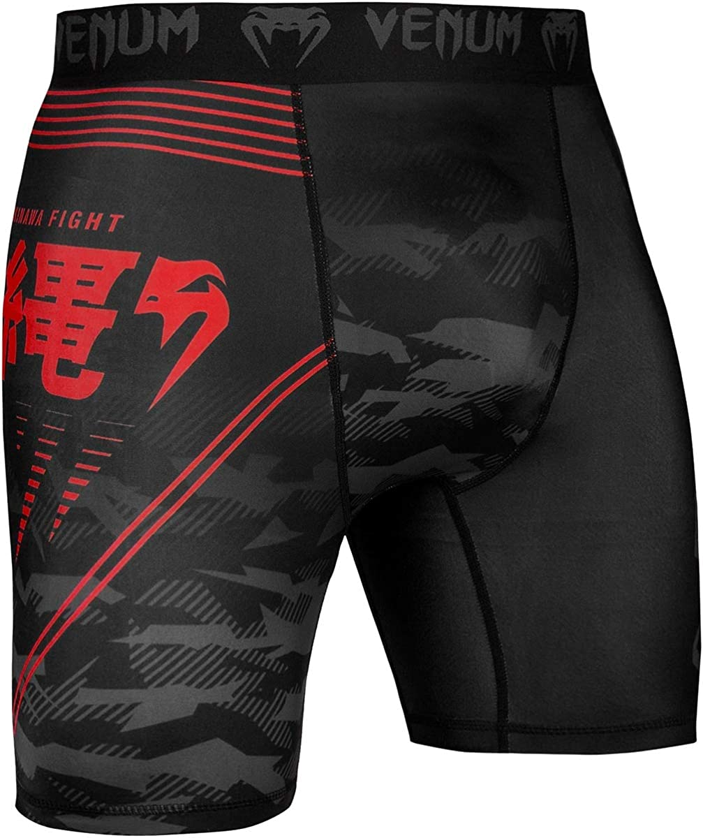 Venum Okinawa 2.0 Compression Shorts Martial Arts BJJ Grappling No-Gi Mens