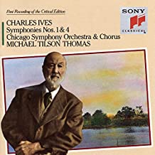Ives: Symphonies Nos. 1 & 4/Hymns