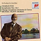 Image of Charles Ives: Symphonies Nos. 1 & 4 / Hymns