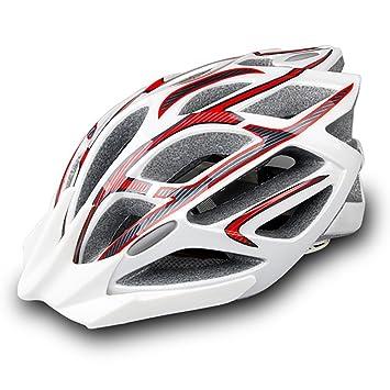 TKUI Casco de Bicicleta ecológico Ultraligero PC + EPS Total Ajustable Ligero Bicicleta de Montaña Hombres