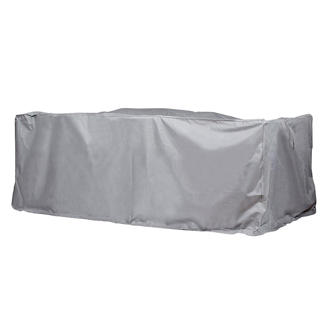 Gartenmöbel Schutzhülle/Abdeckung - Premium XL (320 x 220 x 94 cm) Wasserdichte Abdeckplane für Sitzgruppe/Oxford 600D Polyestergewebe/mit Ventilationsöffnungen/Rechteckig