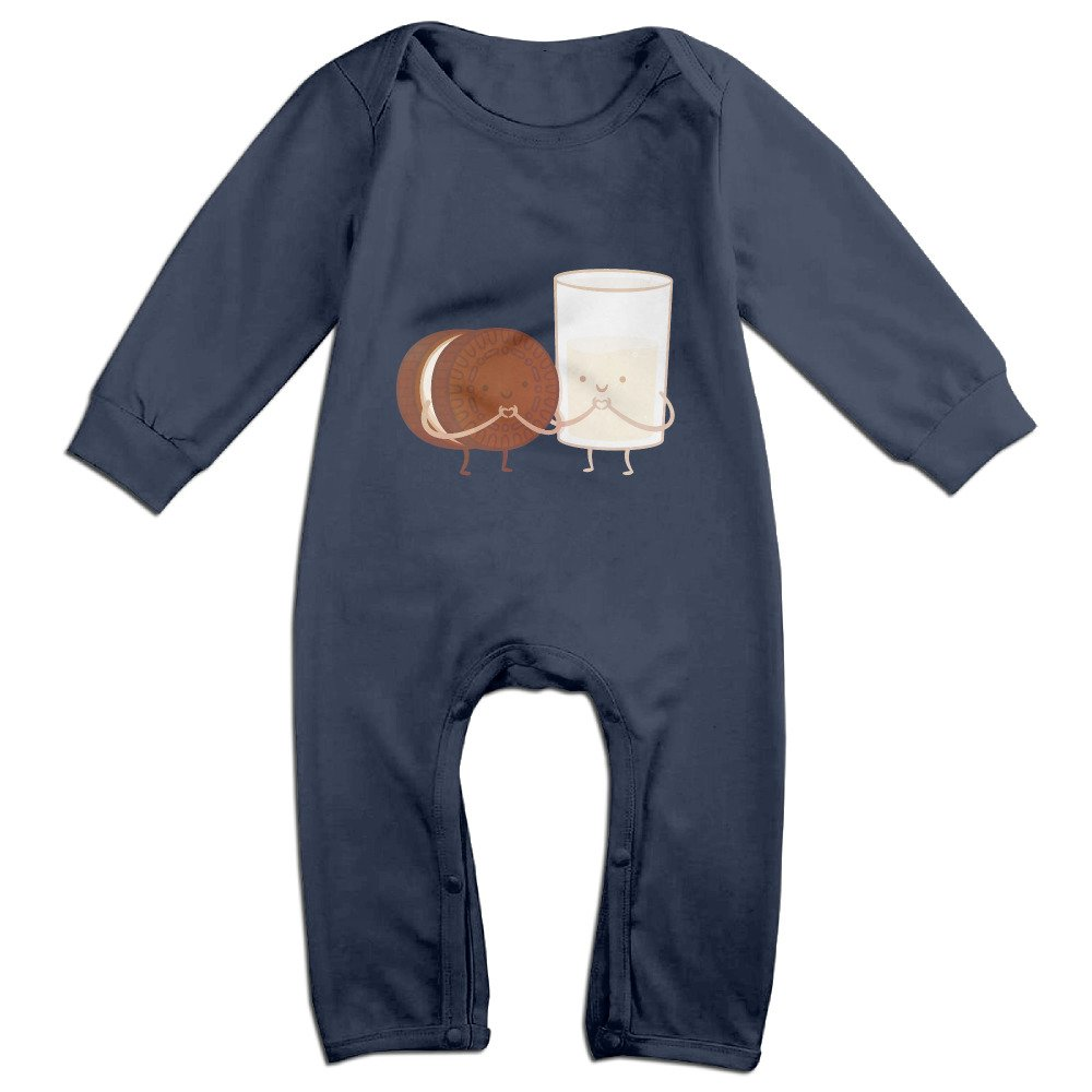 2f27ae6439e9 Amazon.com  Cotton Chocolates And Milk Baby Romper Dresses  Clothing
