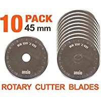 Rotary Cutter cuchillas 45 mm x 10 unidades