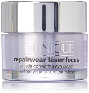 Clinique Repair Wear Laser Focus Wrinkle Correcting Eye Cream for Unisex, 0.5 Ounce