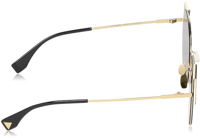 20b436020c6 Fendi Women s Sonnenbrille FF0190S-0002M-57 Sunglasses
