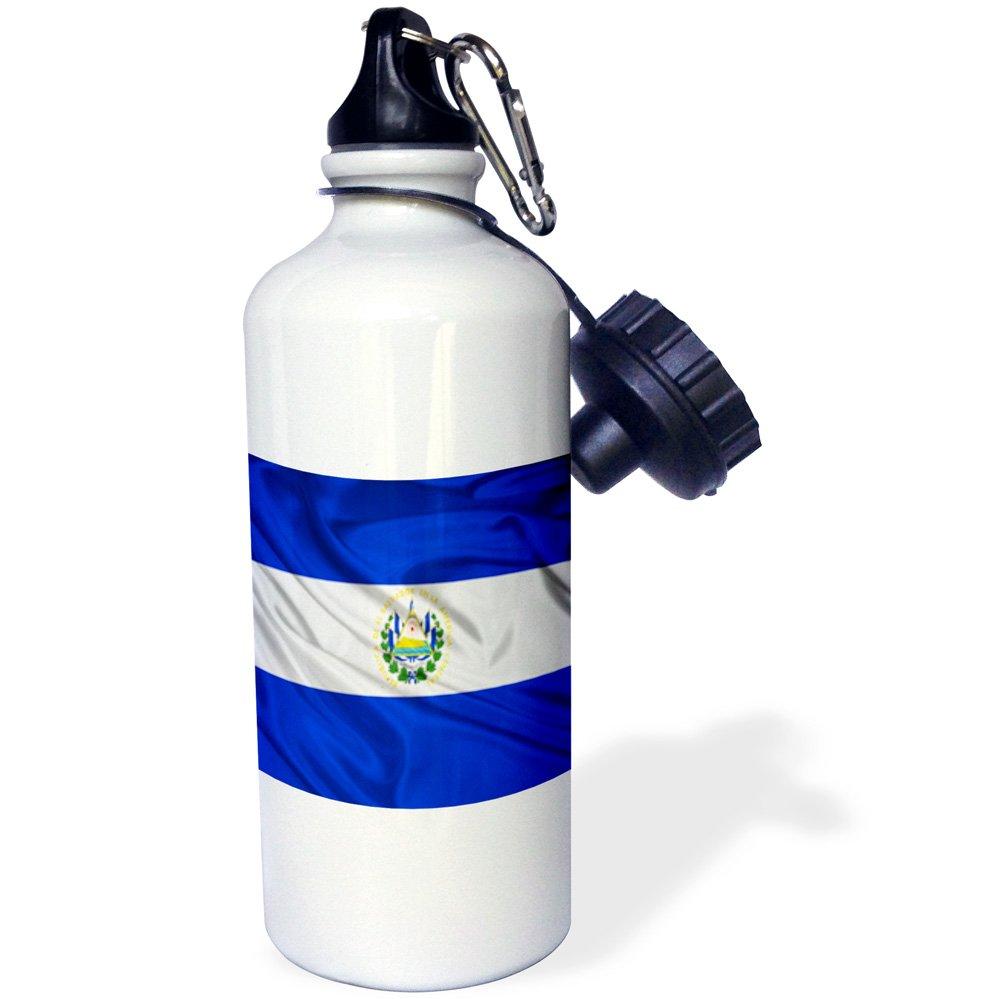 3dRose wb/_28247/_1 Finland Flag Sports Water Bottle White 21 oz