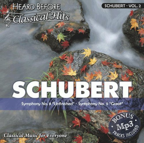 """Price comparison product image Schubert [vol. 2]: Symphony No. 8 """"""""Unfinished"""""""" & Symphony No. 9 """"""""Great"""