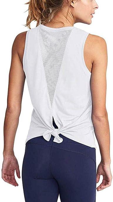 Wankting 2020 - Camiseta sin Mangas para Mujer, de Verano ...