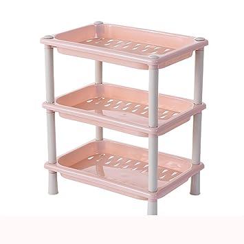 Berrose 3 Tier Kunststoff Ecken Organizer Badezimmer Caddy Regal
