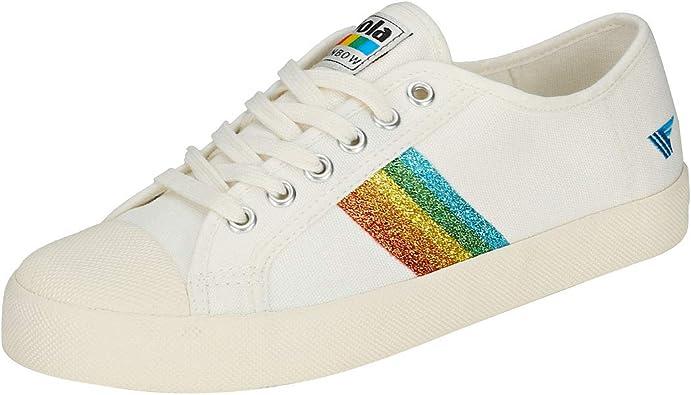 Gola Coaster Rainbow Glitter Womens