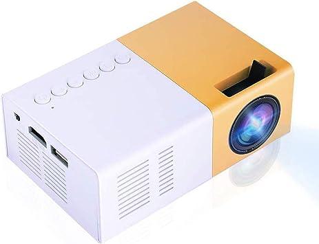 Opinión sobre Vbestlife Mini Elegante Proyector LED Portátil 1080P Full HD 1500 Lume NS Compatible HDMI,VGA,AV, USB y Micro S D, Reproductor Multimedia para Sistema de Cine en Casa.(Blanco)