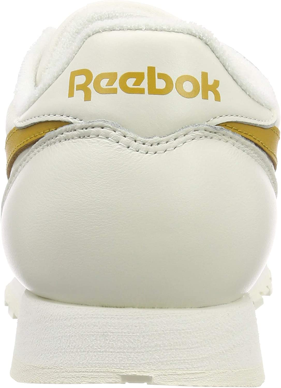Reebok Cl Leather Mu, Chaussures de Fitness Homme Multicolore Vintage Chalk Wild Khaki 000