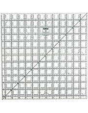 Grace Company TrueCut 12-1/2-Inch by 12-1/2-Inch Ruler