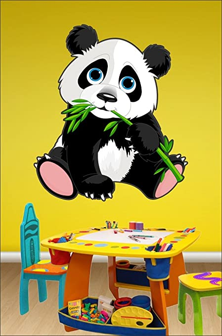 Buy SRGindia Panda Removable Decor Wall Stickers Online at Low ...
