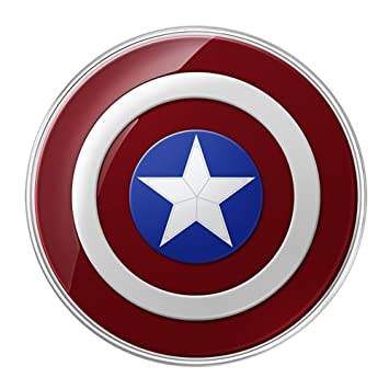 AVENGERS EDITION Wireless Qi Charging Pad (EP-PG920I) Charger for Samsung Galaxy S6 S6 edge, Compatible with all Qi-certified devices: Amazon.es: ...