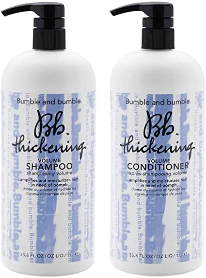 Bumble And Bumble Thickening Shampoo Conditioner 33 8oz Each Health Personal Care