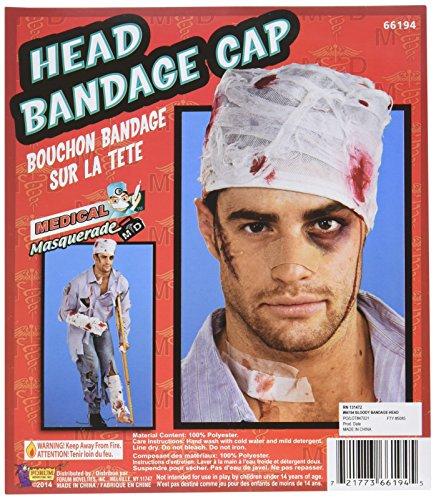 Bloody Head Bandage Cap -