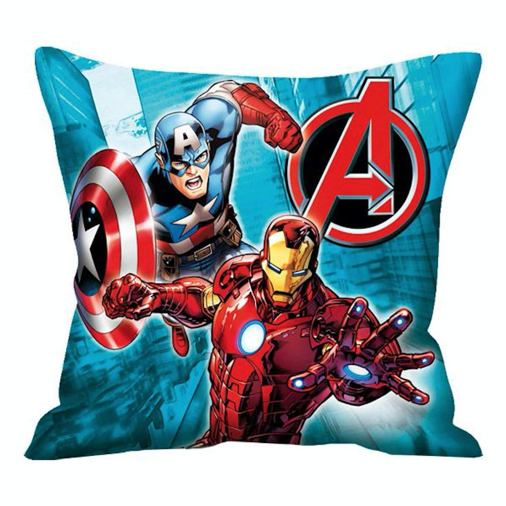 Marvel Avengers - Cojín, diseño de Capitán América y Iron ...