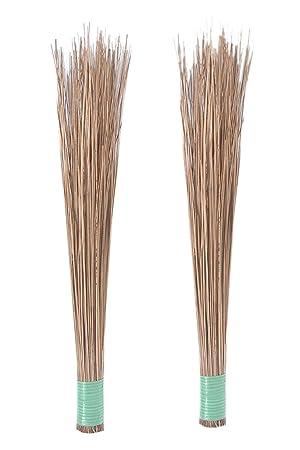 Harit- Jharoo   Seek Jhadu Coconut Broomstick Wet Floor, Garden, Outdoor Cleaning Brooms (Pack of 2)