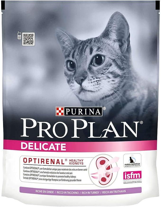 Purina Pro Plan - Purina Proplan Gato Delicate Pavo - 400 g: Amazon.es: Alimentación y bebidas