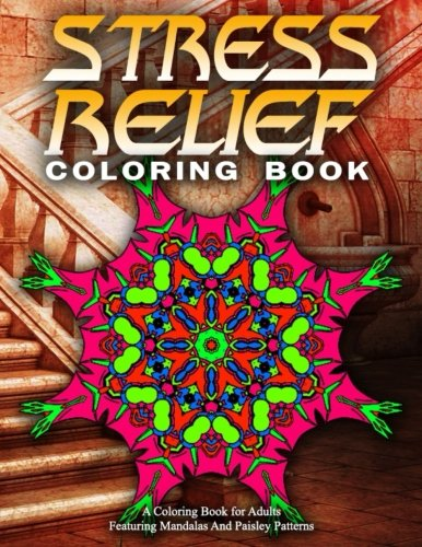 STRESS RELIEF COLORING BOOK Vol.16: Adult Coloring Books Best Sellers For Women (Volume 16)