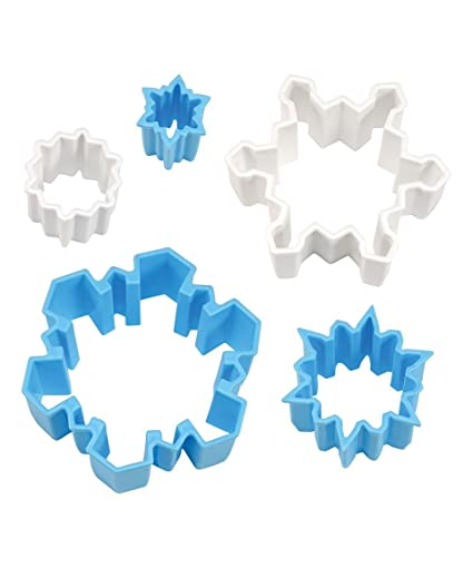 CREATIVE PARTY Snowflake Plastic Cutter Set: Amazon.es: Juguetes y ...