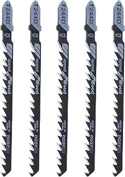 Juego de 10 piezas de hojas de sierra de sable para trabajos de carpinter/ía herramientas de mano para cortar
