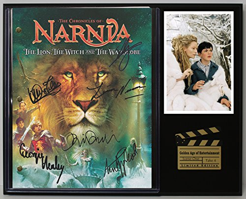 - Chronicals Of Narnia Limited Edition Reproduction Movie Script Cinema Display