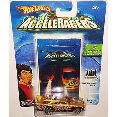 Hot Wheels Jack Hammer Die-Cast Car AcceleRacers / Metal Maniacs 9 of 9 / 2003: Toys & Games