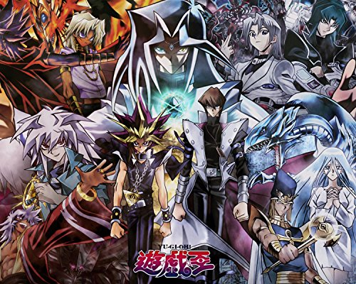 Yu Gi Oh Poster Anime Manga Game King Japanese Wall Art