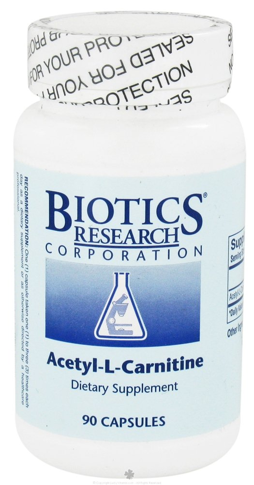 Biotics Research Acetyl-L-Carnitine 90 Capsules