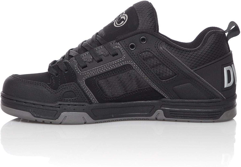 DVS Comanche Shoes Black//Reflective//Charcoal//Nubuck