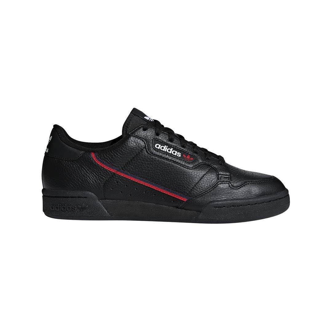 adidas Originals Men's Continental 80 Sneaker, Black/scarlet/collegiate Navy, 6.5 Medium US