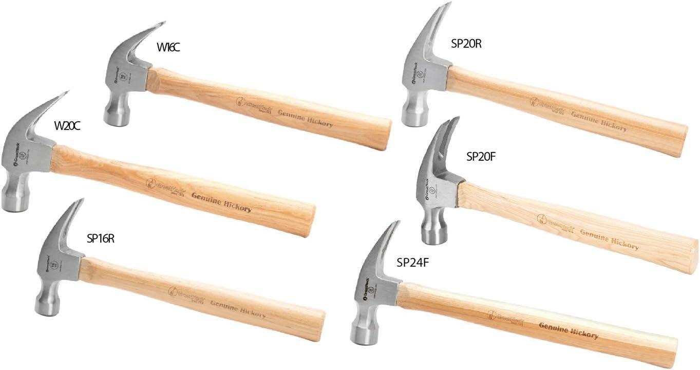 20 Oz Great Neck SP20F Hickory Framing Hammer