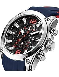 Men's Quartz Wristwatch Luxury Fashion Chronograph Sport...