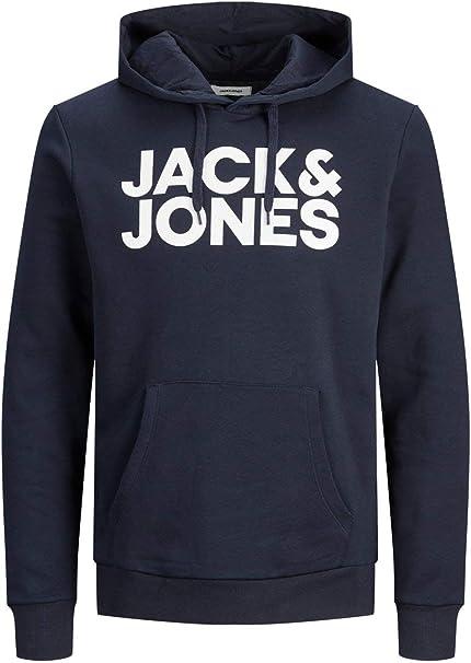 Oferta amazon: Jack & Jones Jjecorp Logo Sweat Hood Noos Capucha para Hombre Talla L
