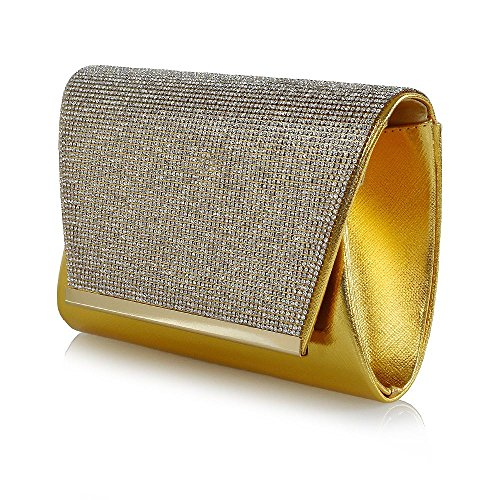 Glam Metallic Clutch - 6