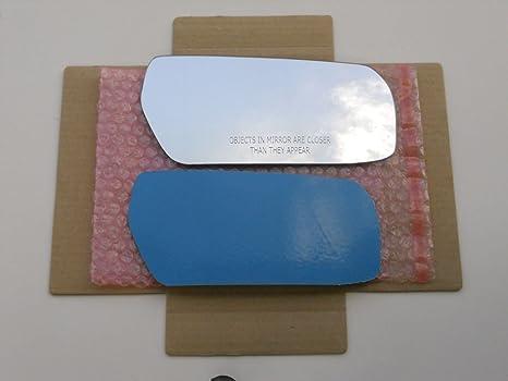Regular Blanco (non-blue Cristal de espejo con adhesivo Tamaño Completo de Repuesto para