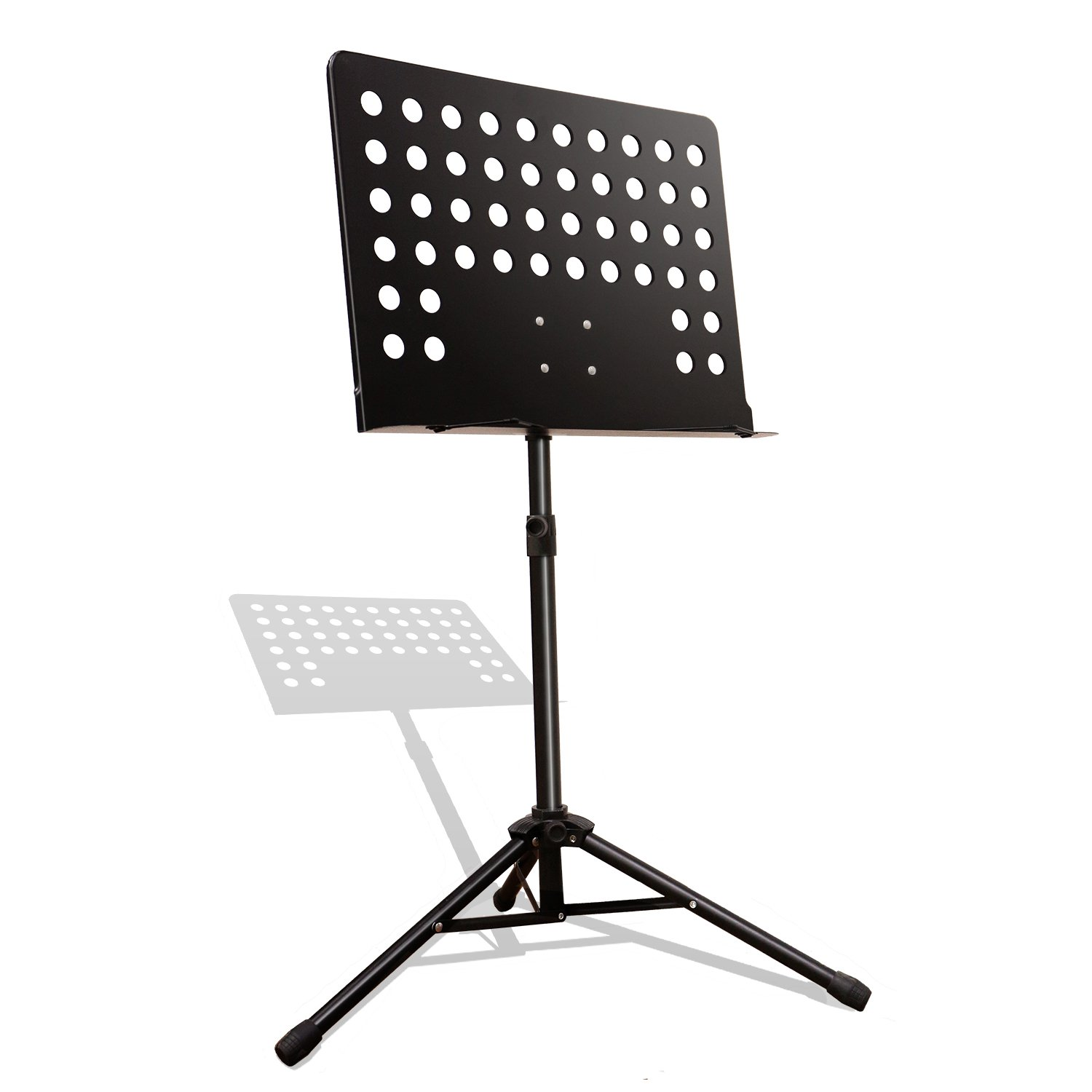 Maestro Extra Durable Metal Music Note Stand Orchestra Heavy Duty Tripod APL1281 by PARTYSAVING (Image #1)