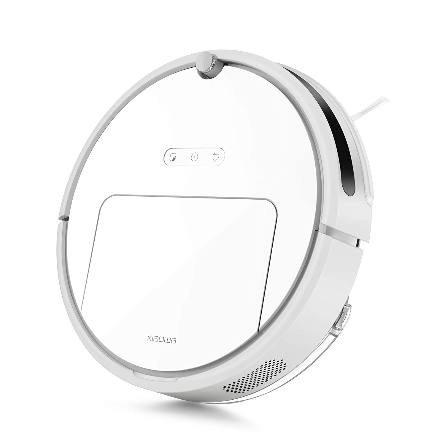 Roborock E20 Robot Vacuum Cleaner Sweeping and Mopping Robotic Vacuum Cleaning Dust and Pet Hair, 1800Pa Strong Suction and App Control, Route Planning on Hard Floor, Carpet and All Floor Types
